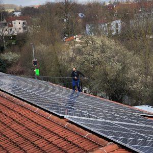 Solarflächenreinigung