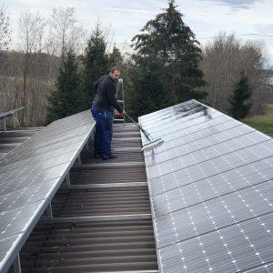 Fachreinigung Solarpannel