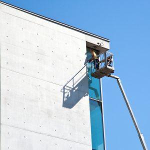 Steiger-Fensterputzer